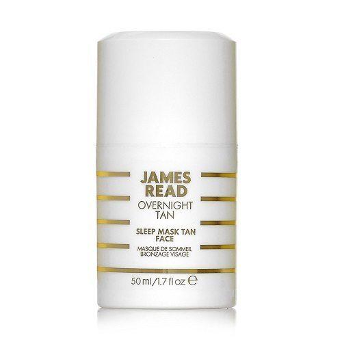 James Read Sleep Mask Tan Face tan pale face
