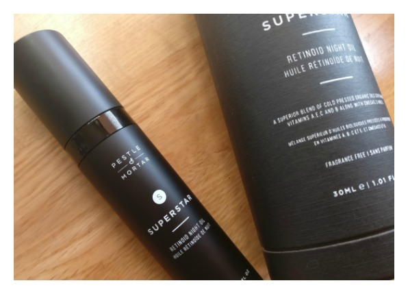 superstar retinol night oil