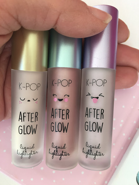 penneys kpop after Glow liquid highlighter