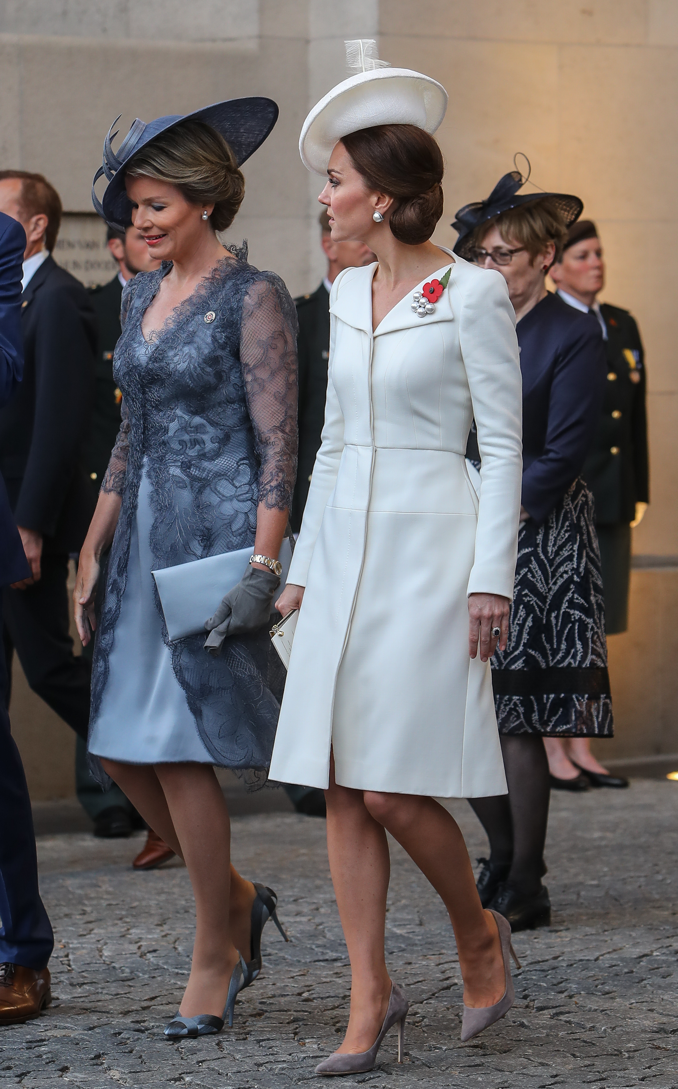 61e0db3d89af Kate Middleton proves it's 100% OK to wear the same outfit multiple ...