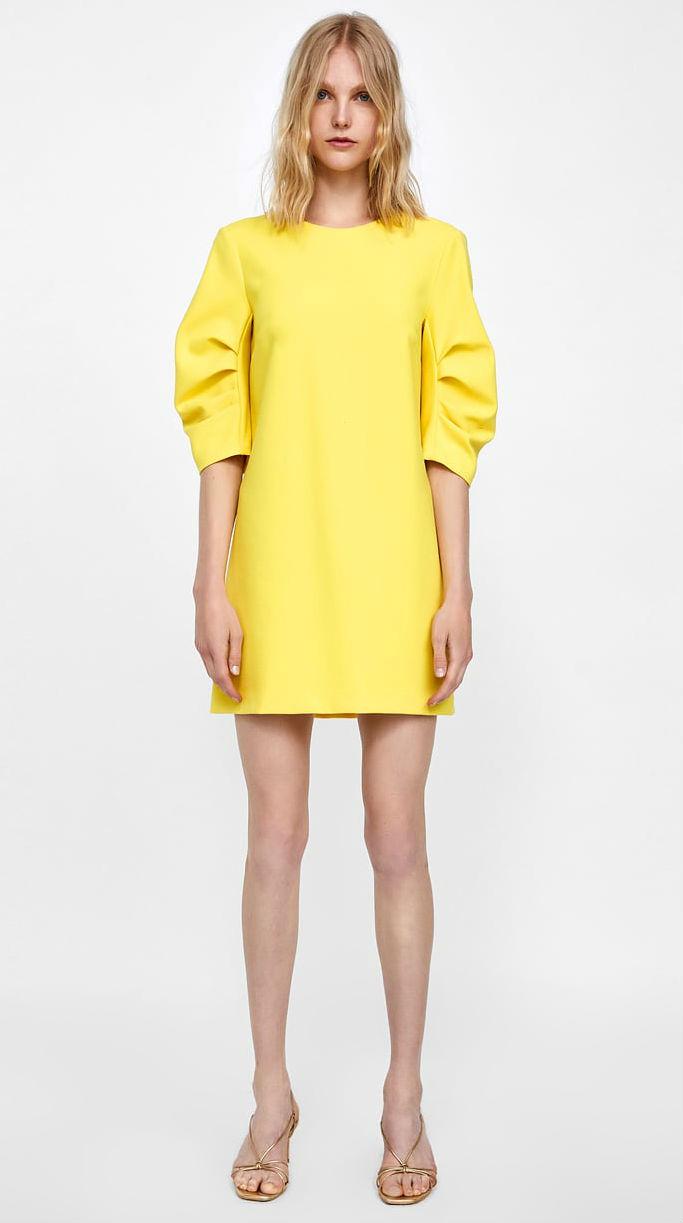 zara new-in-store dress