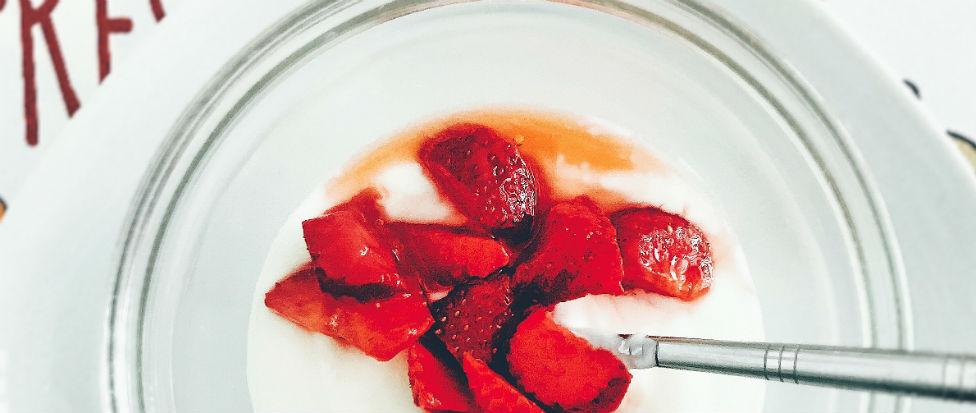 strawberry fun skin treatment