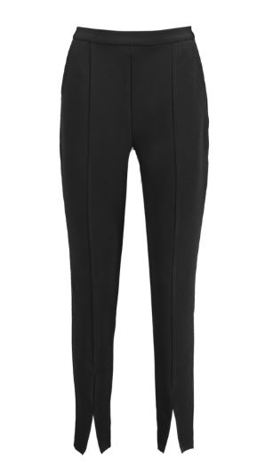 boohoo Split Front Slim Line Ankle Grazer Trousers