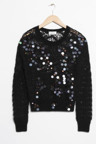 Sequins Mohair And Wool Sweater by & Other Stories