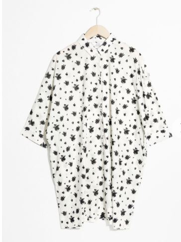 & other stories Cotton Shirt Dress
