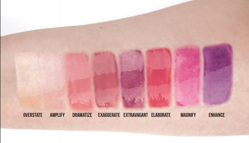 plump your pucker swatches