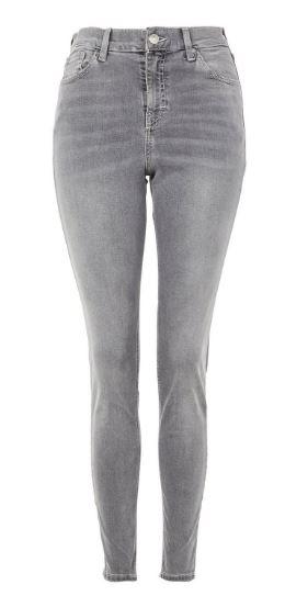 topshop MOTO Grey Jamie Jeans