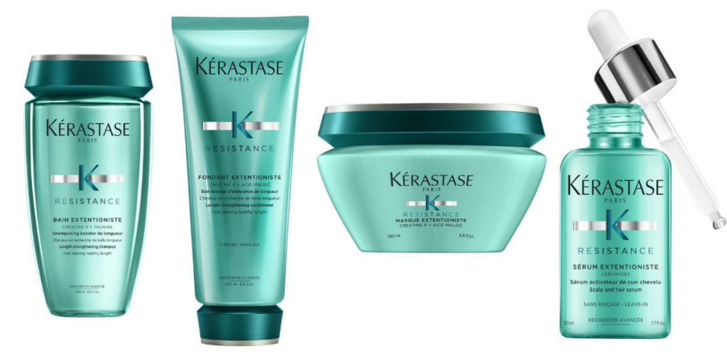 kerastase Resistance Extentioniste haircare range