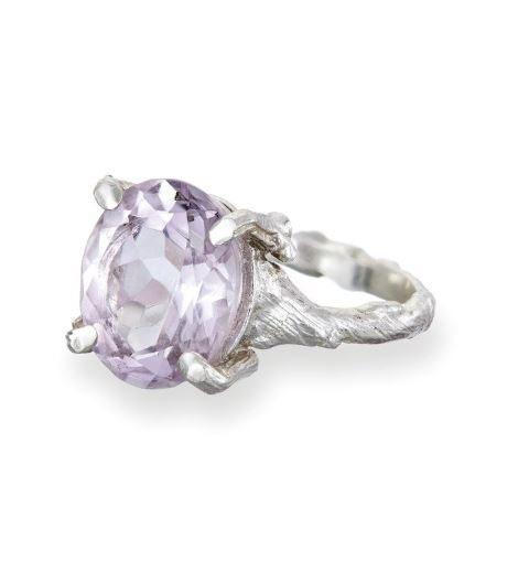 chupi drop in the wild ring amethyst in silver
