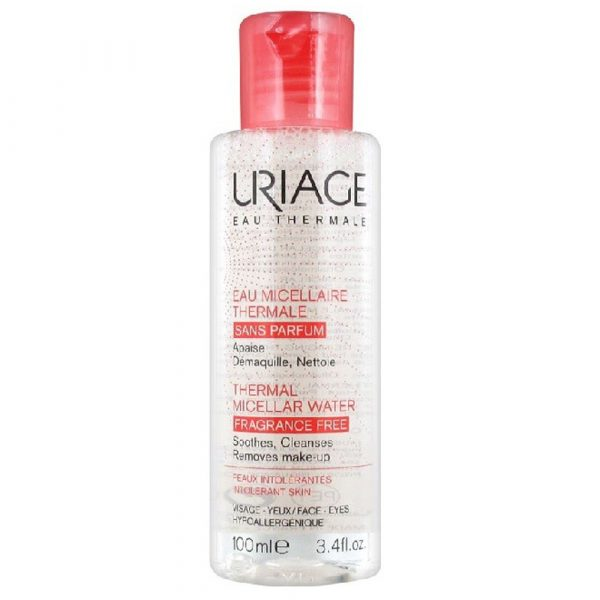 uriage thermal micellar water for intolerant skin