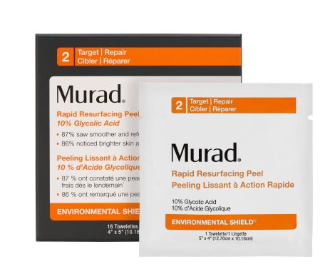 murad Environmental Shield Rapid Resurfacing Peel wipes