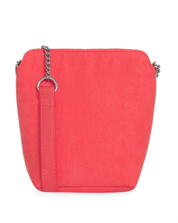 penneys red bucket bag