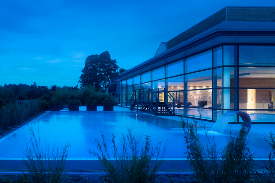 Farnham Estate outside pool