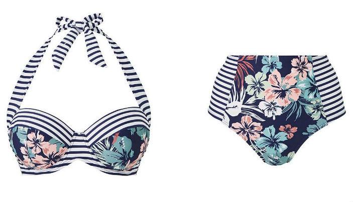bikini bottom and top