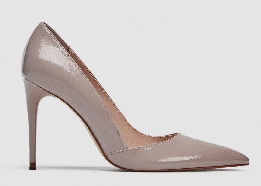 zara nude shoe