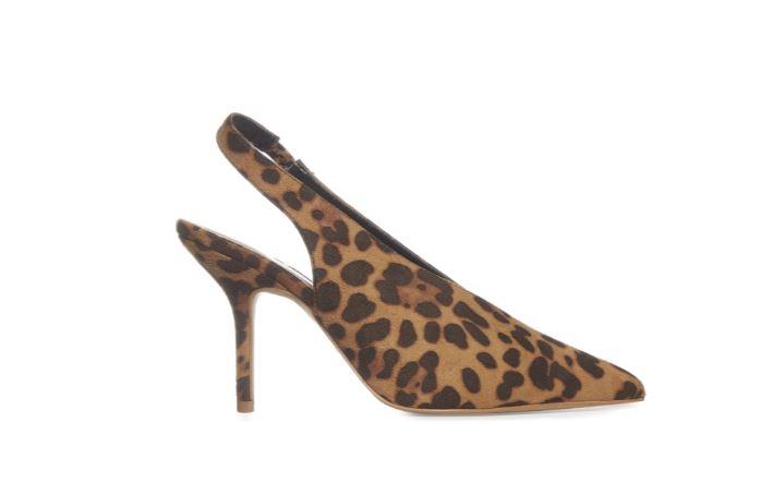 penneys leopard print slingback shoe