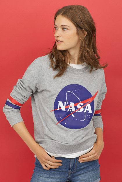 NASA sweater hm