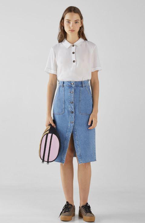 bershka skirt