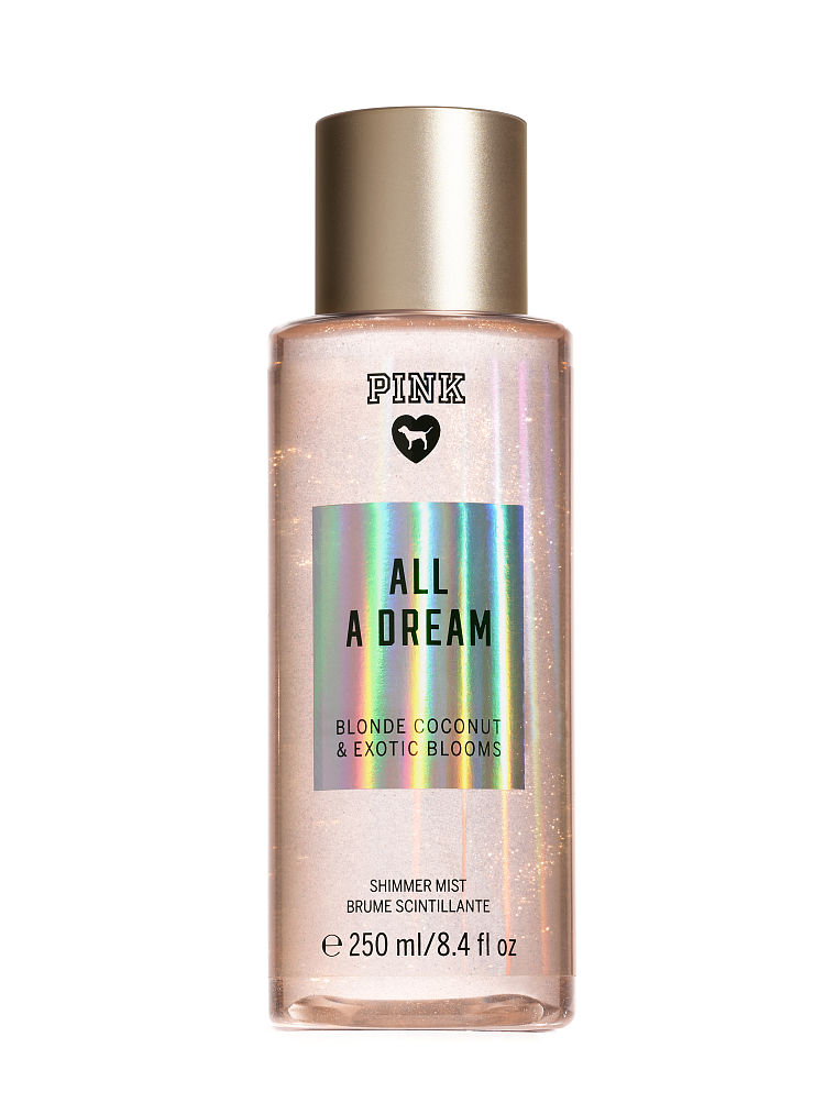pink all a dream shimmering body lotion