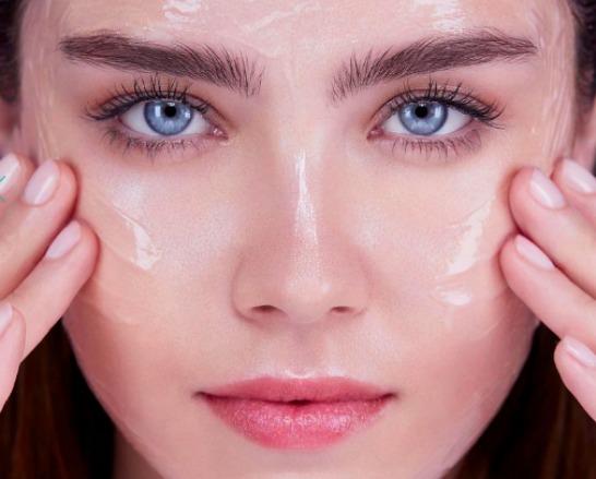 dehydrated skin Lancome model