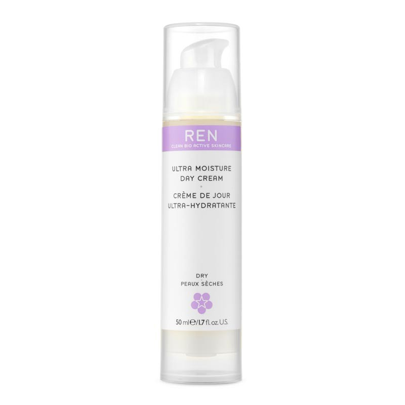 REN ultra moisture day cream with Hyaluronic Acid