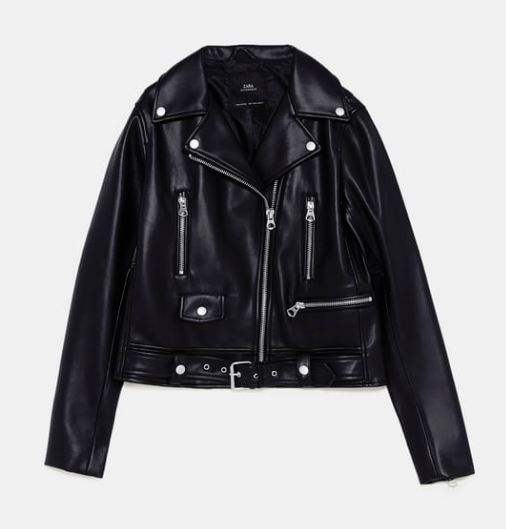 zara faux leather jackets