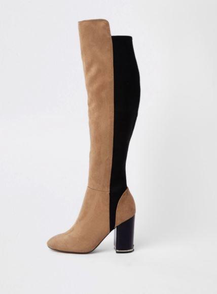 river island knee high autumn boots