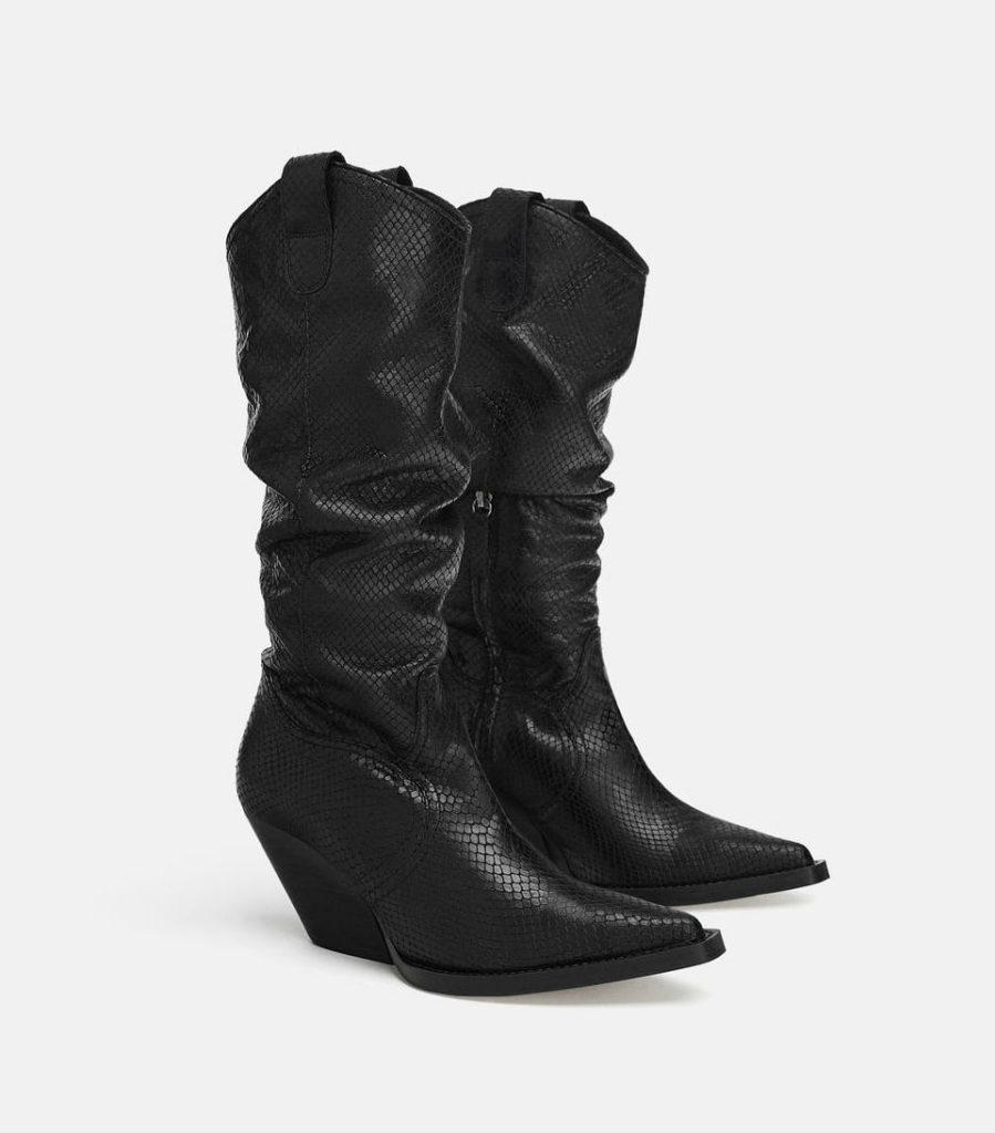 zara western autumn boots