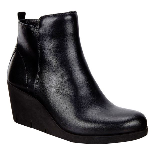 wedge autumn boots