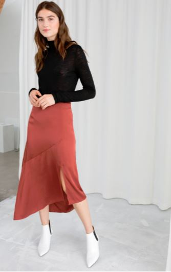 other stories assymetric skirt