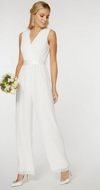 4c2347604ed719 dorothy perkins wedding dress. Showcase White Bonita Bridal Bardot Dress  €195