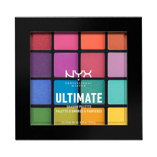 electric bright eyeshadow palette NYX