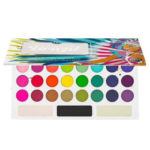 BH electric bright eyeshadow palettes