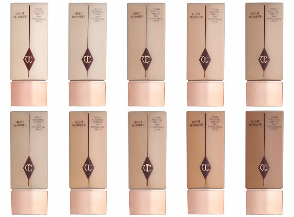 Hydrating foundations CT