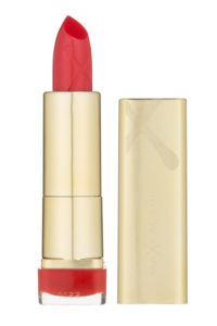 red lipstick max factor
