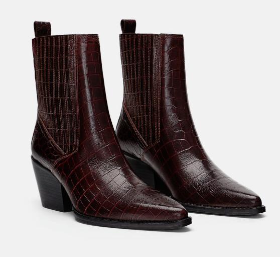 zara work boots