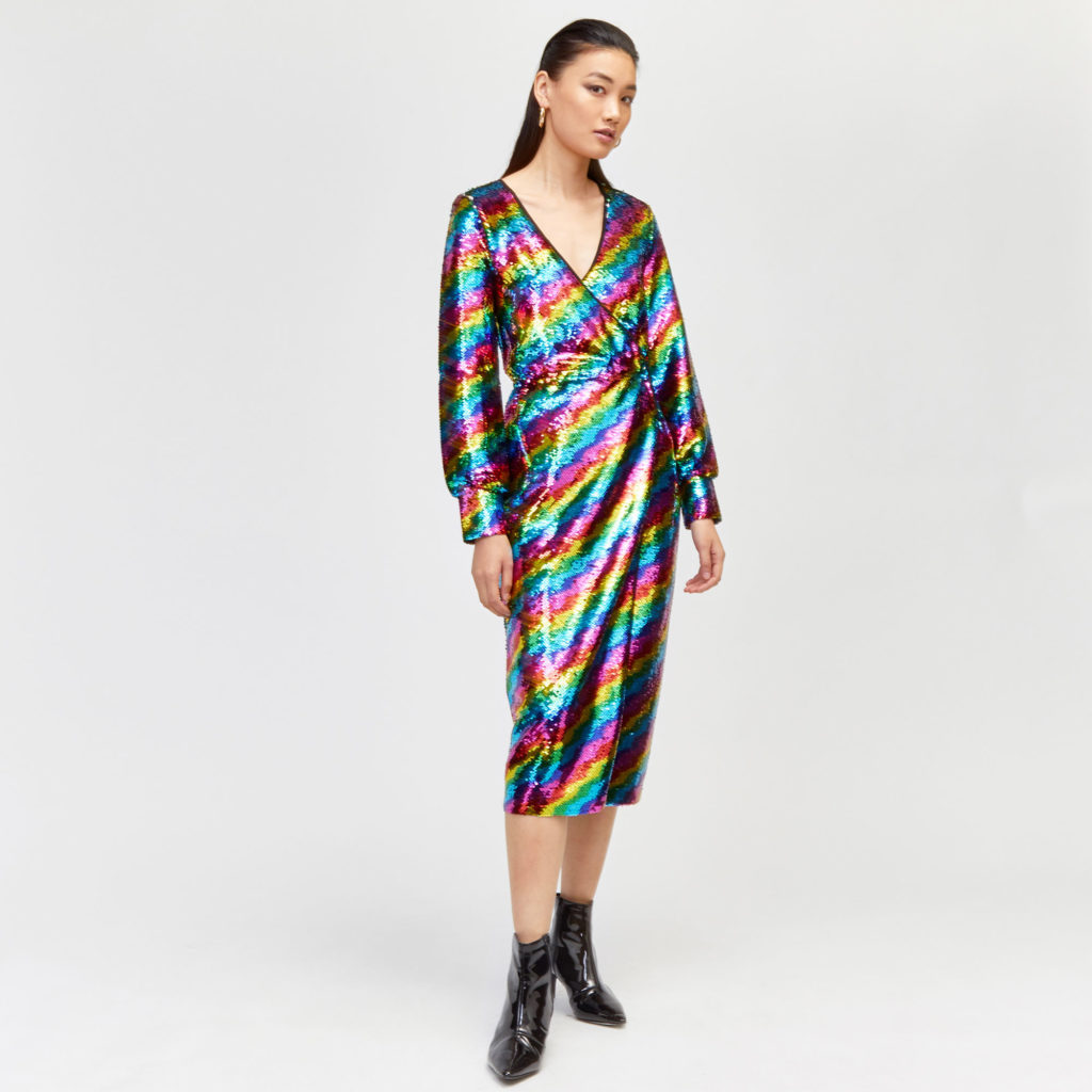 warehouse disco dress