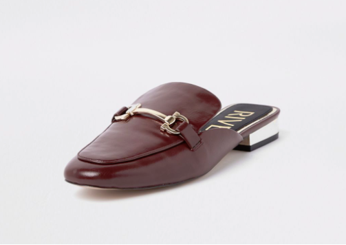 river island flat shes