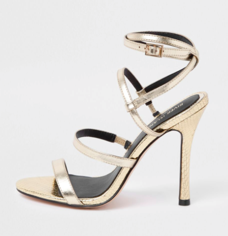 river island party shoes heels