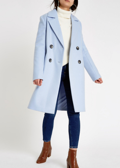 river island wedding coat