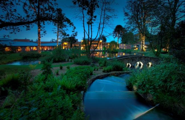 Monart Spa gardens