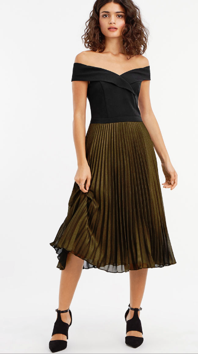 9 Wedding Guest Dresses You Can Wear With Black Tights