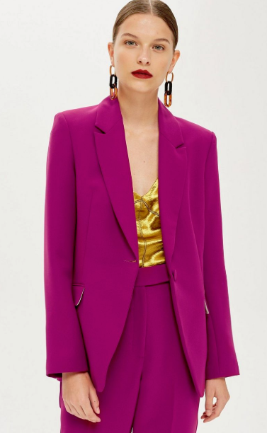 topshop fancy blazer