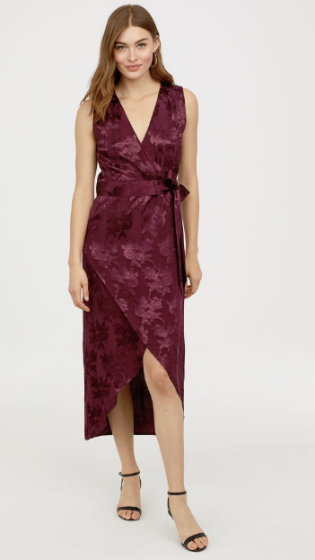 hm new year's eve wedding guest dress