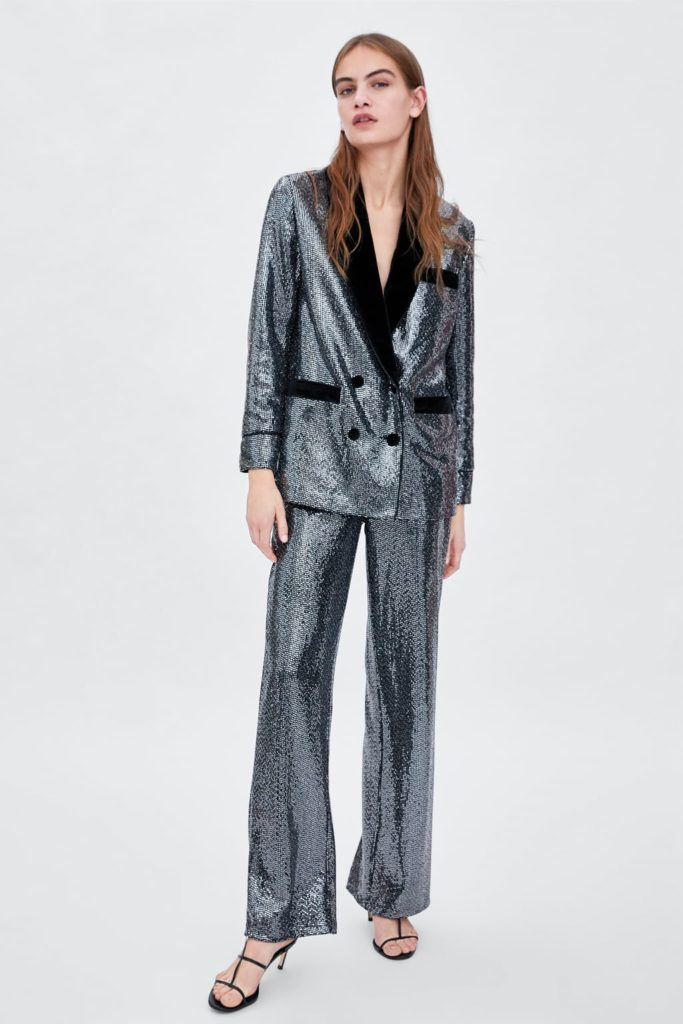 zara trouser suit