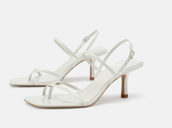 zara low-heel shoe