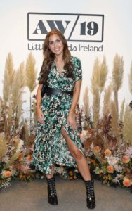 NO REPRO FEE 25/09/2019 Tara O'Farrell pictured at the Littlewoods Ireland Autumn/Winter press show in The Marker Hotel, Dublin. Littlewoods Ireland has unveiled a new collection of key trends for Autumn/Winter 2019 with looks comprised of V by Very, as well as a selection of high-street favourites. #VbyVeryAW19 Photograph: Leon Farrell / Photocall Ireland