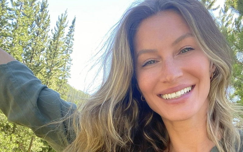 Gisele Bündchen has been open about using clear braces