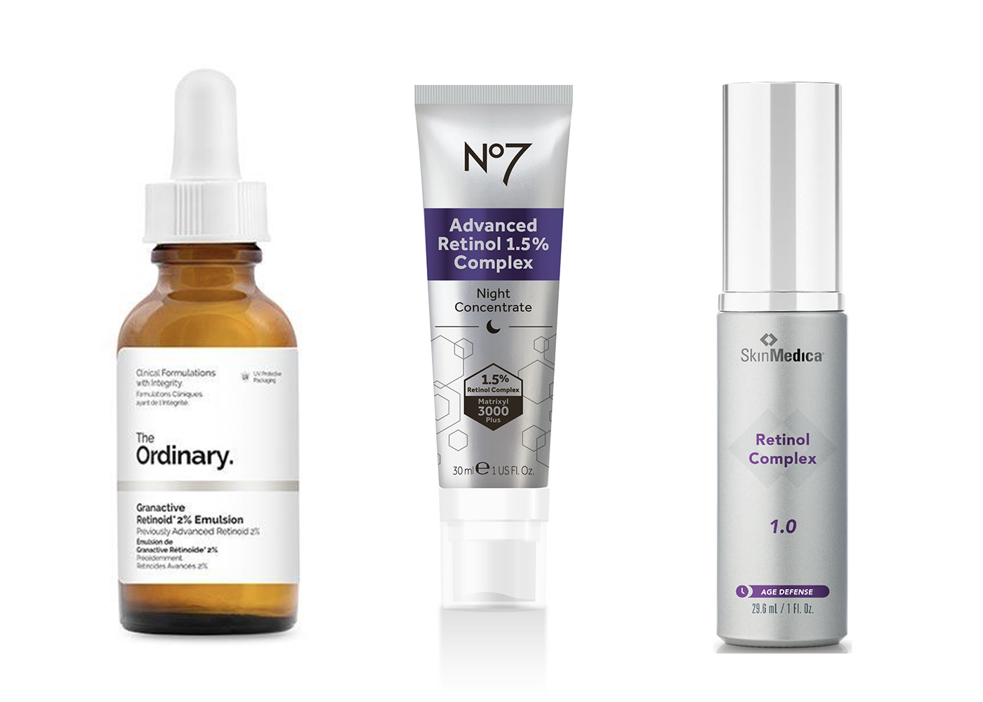 Skincare Products with Vitamin A
