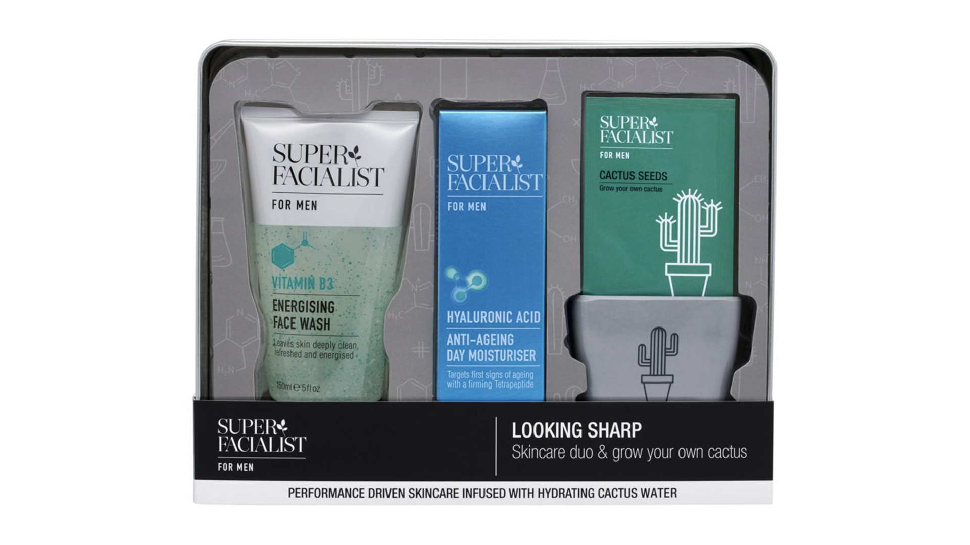 Valentine's Day Gift for Him: Superfacialist For Men Gift Set
